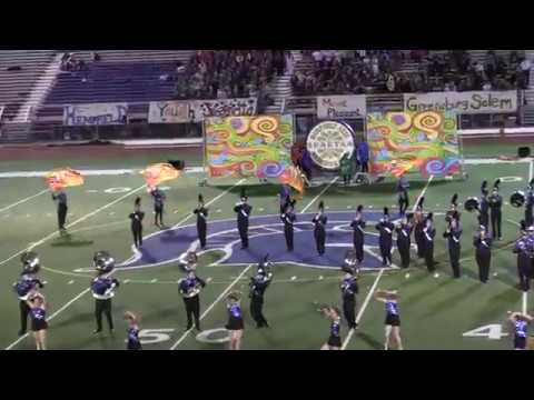 The Hempfield Area Spartan Marching Band,  Hempfield Area Band Festival, September 14th, 2019