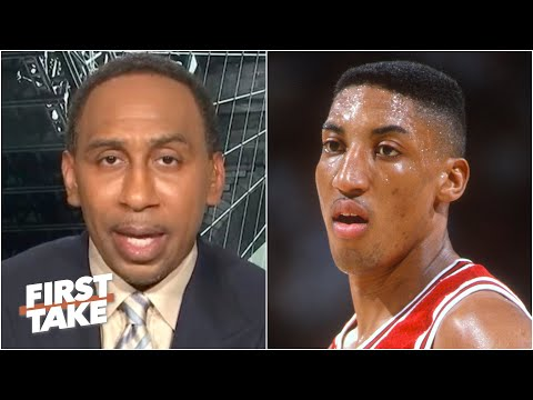 Stephen A. won't defend Scottie Pippen's actions in 'The Last Dance' | First Take