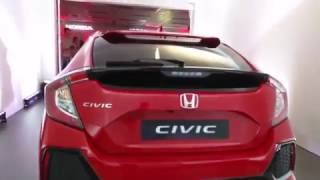 The New 10th generation Honda Civic Hatchback