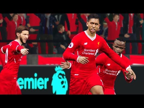 Liverpool Vs Watford | 17 March 2018 Gameplay