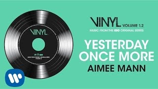 Nonton Aimee Mann   Yesterday Once More  Vinyl  Music From The Hbo   Original Series   Official Audio  Film Subtitle Indonesia Streaming Movie Download