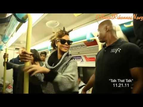 Rihanna Behind The Scenes Of Talk That Talk  #4