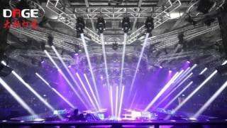 Video Night club lighting show-- DAGE Lights 7r beam moving head MP3, 3GP, MP4, WEBM, AVI, FLV November 2018