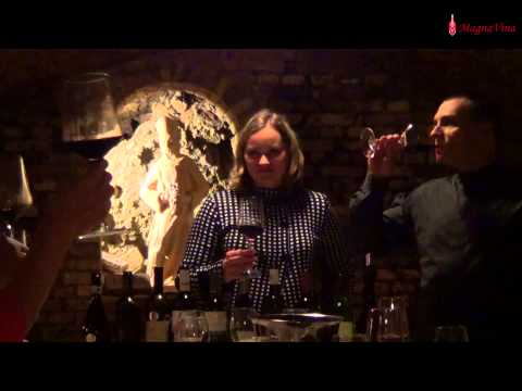Degustace Magna Vina - Cabernet Sauvignon 2007, Tanzberg (видео)
