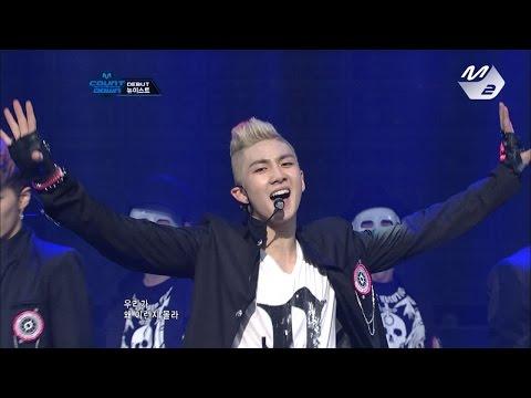 [Produce101 season2 NU'EST]  NU'EST_FACE @ M COUNTDOWN Debut Stage 170317 EP.18 (видео)