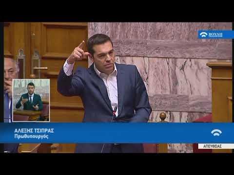 Τριτολογία Πρωθυπουργού Α.Τσίπρα(Περιεχόμενο κρίσιμων συζητήσεων Κυβέρνησης-Δανειστών)(23/05/2018)