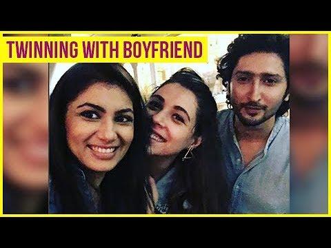 Sriti Jha aka Pragya TWINNING With Boyfriend Kunal