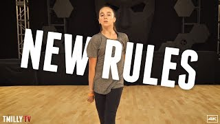 Video Dua Lipa - New Rules - Choreography by Brian Friedman - #TMillyTV MP3, 3GP, MP4, WEBM, AVI, FLV Maret 2018