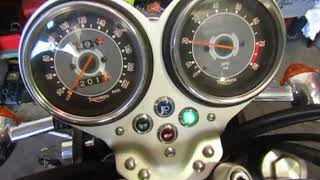 9. 2006 Triumph T100 Bonneville Engine test run