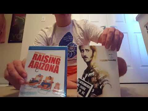 Raising Arizona (1987) Blu Ray Unboxing