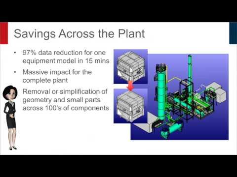 CADfix PPS permet d'alléger les modèles  CAO complexes