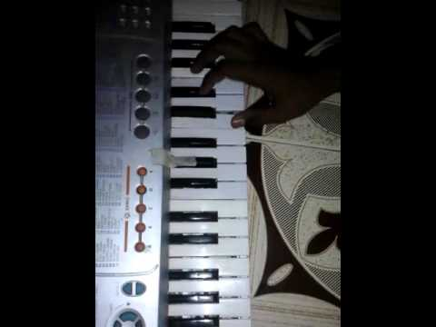 Chimani udali-Marathi song on keyboard (piano) .