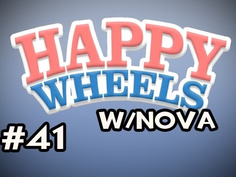 Happy Wheels w/Nova Ep.41 - Boxing Gloves, Nuff Said Video