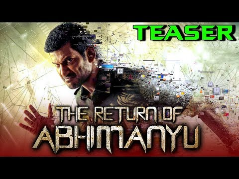 The Return of Abhimanyu (Irumbu Thirai) 2019 Official Hindi Dubbed Teaser | Vishal, Samantha, Arjun