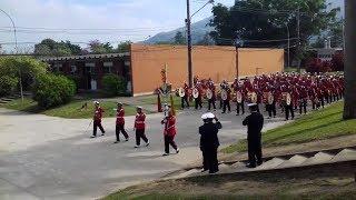 Apresentação da Banda Marcial do Corpo de Fuzileiros Navais no Centro de Instrução Almirante Milcíades Portela Alves...