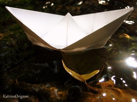 Origami ★ traditional Boat ★