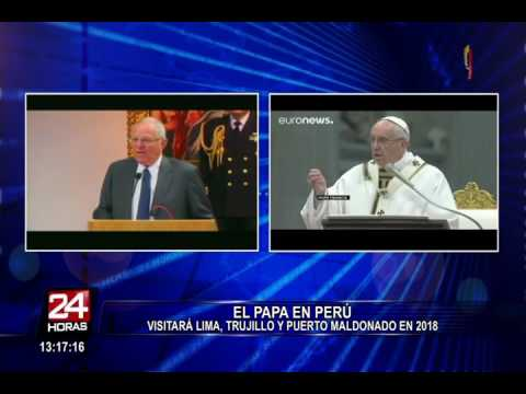 Papa Francisco visitará el Perú y Chile (VIDEO)