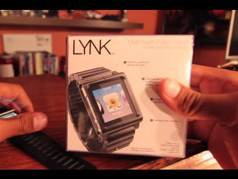 ipod as a watch - Black Wristwatch by LunaTik - Lynk 2012 Unboxing and Review . The wristband fits real snug, has silicon strip under the band. Main material is alluminum allo...