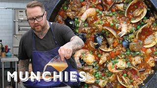 How-To: Make Paella Valenciana with Jamie Bissonnette by Munchies