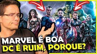 Video PORQUE VINGADORES DEU CERTO E A LIGA NÃO? Marvel vs DC comics MP3, 3GP, MP4, WEBM, AVI, FLV Mei 2018