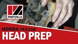 7. Honda Rancher 350 Top End Rebuild Part 3: Valves and Head | Partzilla.com