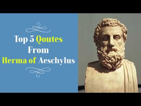God quotes - Top 5 Quotes By Herma of Aeschylus - Greek Tragedian
