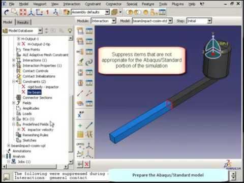 SIMULIA Abaqus Co -simulation Std To Exp