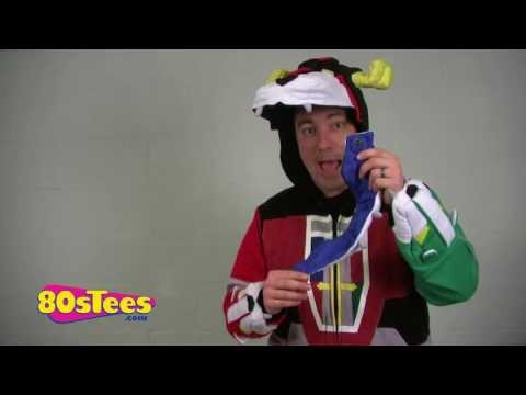 Deluxe Voltron Costume Hoodie Video