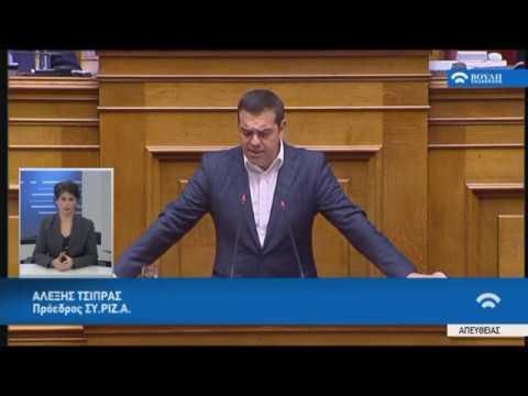 Α.Τσίπρας (Πρόεδρος ΣΥ.ΡΙΖ.Α)(Προϋπολογισμός 2020)(18/12/2019)