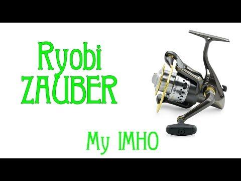 Відеоогляд котушки Ryobi Zauber 1000