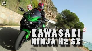 10. Kawasaki Ninja H2 SX review | Visordown road test