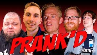 Vi tog røven på fem af de største danske Youtubere, og de hoppede lige i med begge ben! De troede, at de skulle tæve en lille...