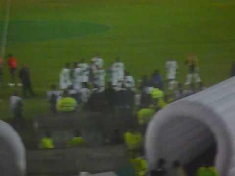 Salida de Boyacá Chicó en La Independencia (Libertadores 2009)