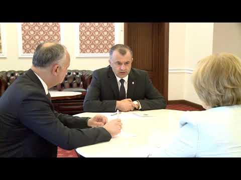 Игорь Додон, Зинаида Гречаный и Ион Кику приняли участие в еженедельном совещании
