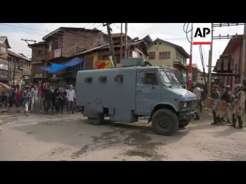 Violence as Kashmir protesters defy curfew