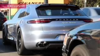 Ведущего Арестовали во Время Тест-Драйва Porsche в США.
