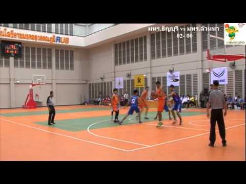 บาสเกตบอลทีมชาย มทร.พระนคร(68) vs มทร.อีสาน(48)