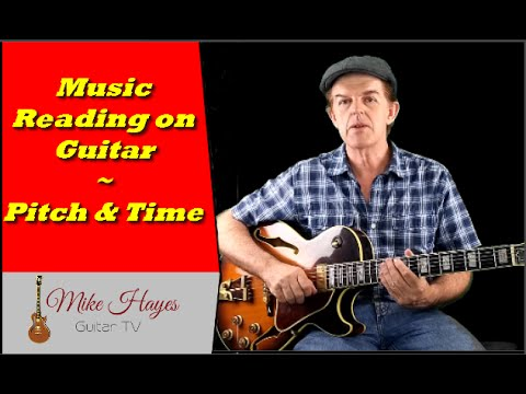 Guitar Notes For Beginners – Music Reading On Guitar – Pitch and Time (part 1)