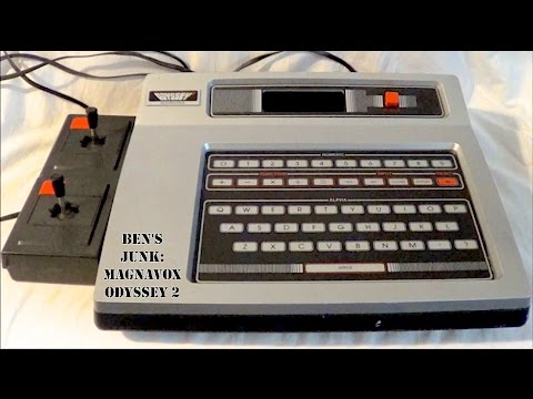 Oddity Archive: Episode 102.5 – Ben's Junk: Magnavox Odyssey 2 (Video Game Console)