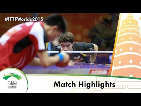 WTTC 2015 Highlights: FRANZISKA Patrick vs KOU Lei (R 16)
