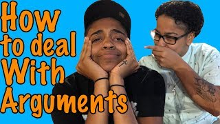 HOW TO DEAL WITH ARGUMENTS-|Rae & Brie|