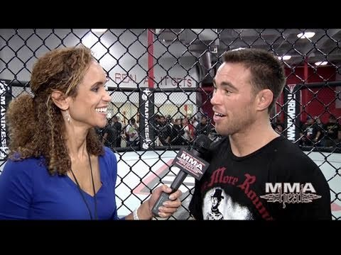 Jake Shields UFC 121 Open Workout  Pre Fight Interview