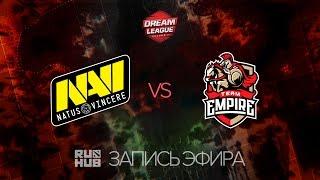 Natus Vincere vs Empire, DreamLeague Season 7, game 1 [Lex]