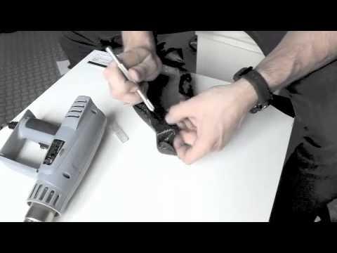 comment appliquer film carbone