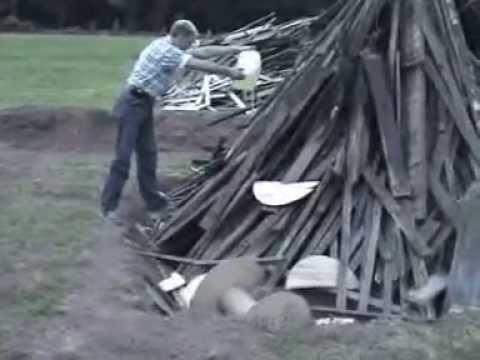 Jak szwagier zrobi ognisto na kiełbaski to nie ma ch… we wsi