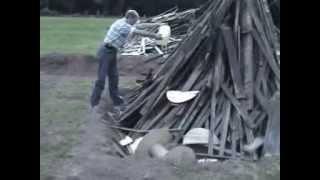 Jak szwagier zrobi ognisko na kiełbaski to nie ma mocnych we wsi