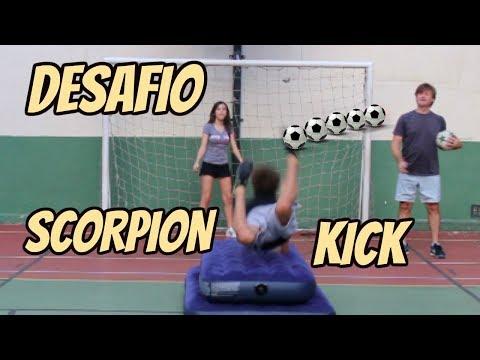 DESAFIO DO ESCORPIÃO - SCORPION KICK CHALLENGE  feat  Carol Santina