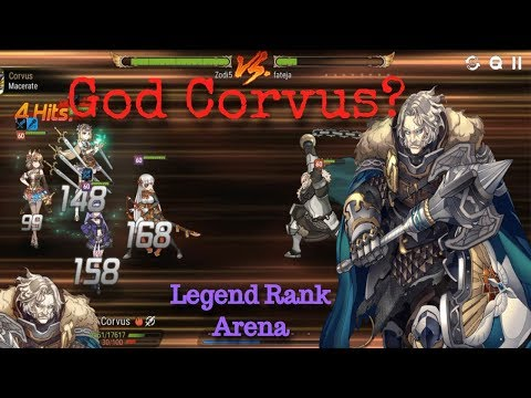 [E7] Top 2 Player's Corvus Defense?! Rush Hour Commence!! *Stats In Description!