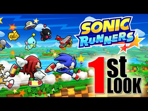 Sonic Runners – Sonic Dash in iOS / Android (1st Look Gameplay)