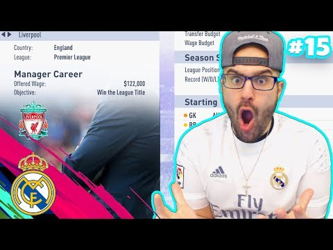 MY NEW JOB?? *NEW TEAM*! FIFA 19 Real Madrid Career Mode #14